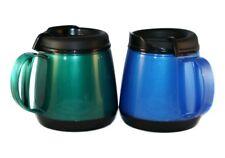 2 Foam Insulated 20oz Wide Body Travel Mugs Blue Green