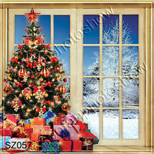 Christmas 10'x10' Computer-painted Scenic Photo Background Backdrop SZ057B11