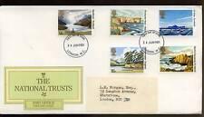 GB FDC 1981 National Trust Londra Wc IED