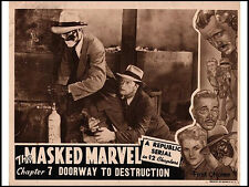 The Masked Marvel -  Classic Cliffhanger Movie Serial DVD William Forrest