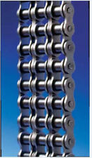 #80-3 Triple strand roller chain 10FT NEW FROM FACTORY w/free Connecting Link