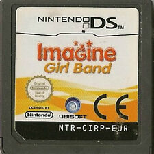 NINTENDO DS IMAGINE GIRL BAND GAME CARTRIDGE ONLY