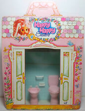 EL GRECO 80'S VTG HAPPY HAPPY SISTERS BATHROOM TOILET FURNITURE DOLL HOUSE SET