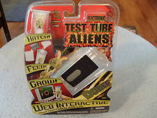ELECTRONIC TEST TUBE ALIENS - NIP - WEB INTERACTIVE - HATCH / FEED / GROW!