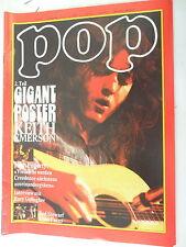 1 x Magazin - Pop Nr. 11- 7. Jahrgang-1972  seltene Musikzeitschrift -Z.sehr gut