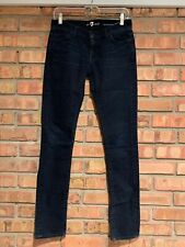 7 Seven For All Mankind Roxanne Skinny Jean Dark Wash Size 26