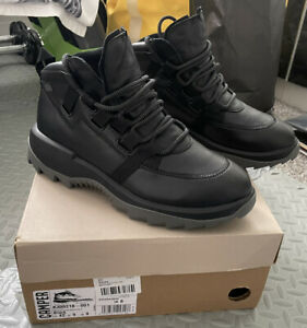 Camper Helix Chunky Black Boots Size 8