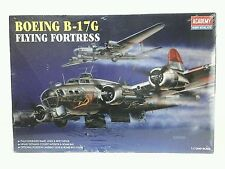 Collectible Academy Boeing B-17G Flying Fortress 1/72 Scale Model Kit 1994 NIB