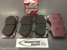 02-09 4RUNNER 07-14 FJ CRUISER Front Brake Pads Genuine Toyota OEM 04465-35290