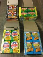 Lot of 500 Baseball Cards in Unopened Packs 1986-1994 from Box Case Rookie Cpics
