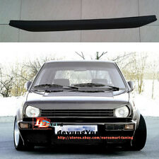 Euro Front Bumper Hood lip  Grille Eyebrow Eyelid Trim for VW Golf Jetta MK2 GTI