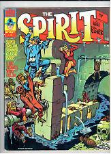 Warren Magazine THE SPIRIT #4 Oct 1974 Summer Special vintage comic Will Eisner