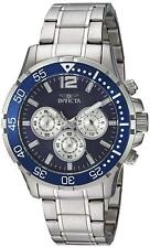 Invicta 23664 Specialty Men's 45mm Chronograph Stainless Steel Blue Dial Watch