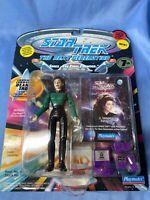 Playmates Star Trek The Next Generation Lt Commander Deanna Troi Action Figure