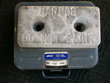Harbor Hull Plate Anode - Zinc 35lbs