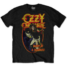 Ozzy Osbourne T Shirt Diary Of A Mad Man Official Mens Unisex Tee Black Sabbath