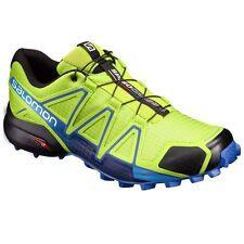 Zapatillas fitness/running de hombre en color principal verde sintético