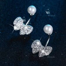 Cubic Zirconia White Gold Filled Pearl Fashion Jewellery