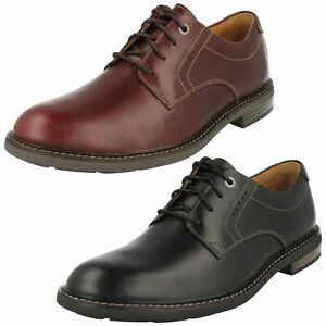 Clarks Hommes Lacet Décontracté Habillé Unstructured Chaussures Cuir Unelott Uni