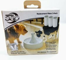 Drinkwell 360 Replacement Filter 3 Pack for Water fountain pet dog cat