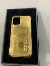 """24kt Gold Magnetic Case """"Dollar""""  for iPhone 11Pro"""