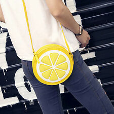 Lemon Style Ladys Fruit Slice Crossbody Shoulder Bag Messager Handbag Clutch G5