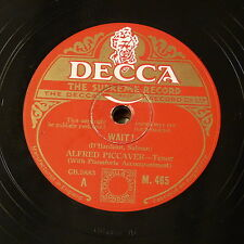 78rpm ALFRED PICCAVER wait ! / love is mine