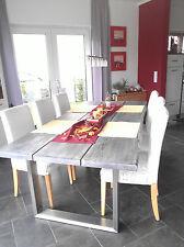 Design Tischgestell Edelstahl Kufengestell 73cm Hoch Tiefe + Profil wählbar Neu