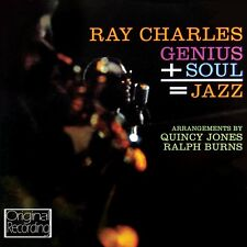 RAY CHARLES - SOUL & JAZZ = GENIUS  CD NEUF