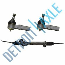 3 pc Set: Power Steering Rack and Pinion Assembly + 2 Outer Tie Rod End