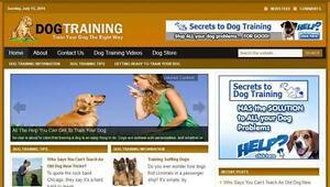 Dog Training  Affiliate Website Free Installation + Free Hosting