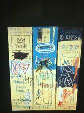 "Basquiat ""Charles The First "" Graffiti Primitivism Modern Art 35mm Glass Slide"