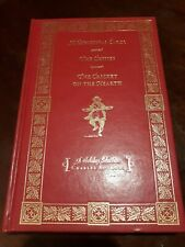 CHRISTMAS CAROL, CHIMES, Charles Dickens, Red Leather, Book Illustrated EUC