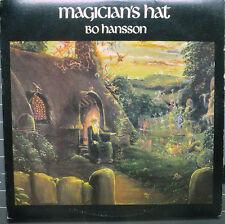 """BO HANSSON """"Magician's Hat"""" Famous Charisma 6062 Near Mint Vinyl LP Psych Rock"""