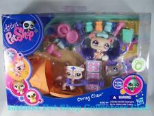 Littlest Pet Shop Caring Clinic CAT lot #1326 MOUSE #1327 PANDA #1328 Rare NIB