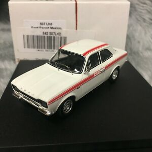 Trofeu 1:43 Ford Escort Mk1 RS Mexico White / Red LHD 507 - Case Cracked