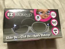 EZ makeup glasses 3X as seen on tv new box