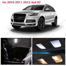 Fits For 2010 2011 2012 Audi Q7 LED Lights Interior Package Kit WHITE 18PCS