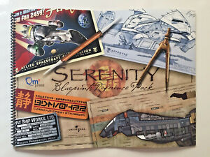 SERENITY BLUEPRINT REFERENCE PACK ALLIANCE CURRENCE MONEY WAVECARDS FIREFLY QMX
