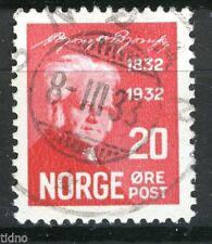 Norway 1932, NK 187 Son Snøan 8-III-33 (ST-Grade 4)