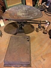 Primitive Rustic Antique Vintage General Store Scale Industrial Decor