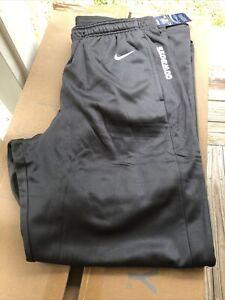 Nike Dallas Cowboys Authentic NFL Onfield Gray Sweat Pants Men's Large 34x32