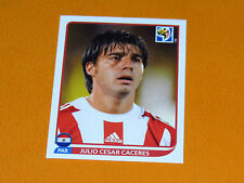 435 CACERES PARAGUAY PANINI FOOTBALL FIFA WORLD CUP 2010  COUPE DU MONDE