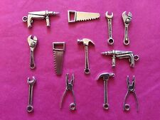 Tibetan Silver DIY/Tools Mixed Charms- 12 per pack Fathers Day/Male themes