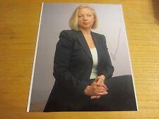 Deborah Meaden Businesswoman Autographed 8.25X10.5 Photograph Dragon's Den