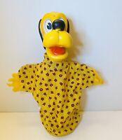Vintage Toys Disney 1950s Pluto Hand Puppet by Gund - Retro Disneyana