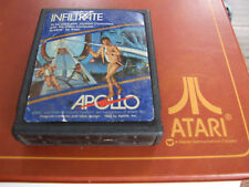 ATARI 2600 REGION FREE OFFERS/COMBINE - APOLLO - INFILTRATE 5