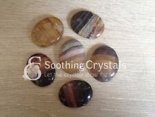 1 Pc Multi Fluorite Worry Stone Crystal Palm Stone Thumb Stone Pocket Stone