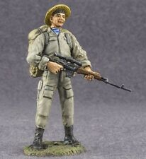 Metal Toy Soldiers Painted USSR Soviet Sniper Commando 1/32 scale Figurine 54mm