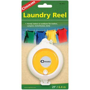 Coghlan's Laundry Reel, 21' Portable Clothesline, Adjustable Nylon Clothes Line